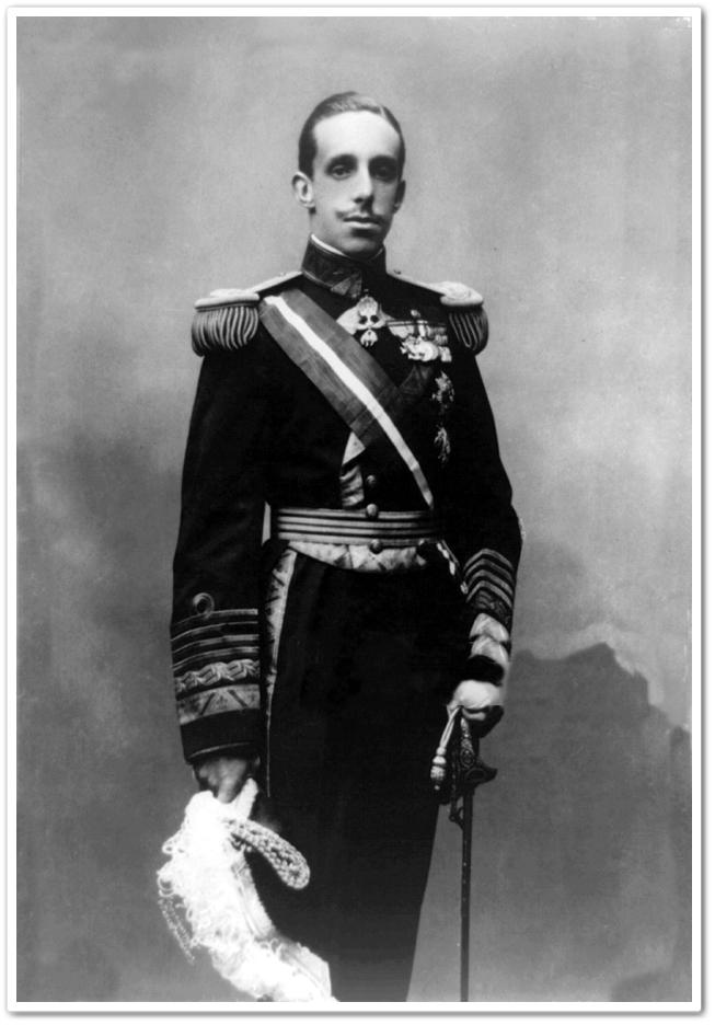 King Alfonso XIII of Spain, 1913 Oct. 13. (Photo by: Photo 12/Universal Images Group via Getty Images)