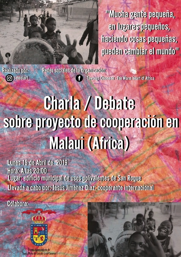 CARTEL CHARLA DEBATE