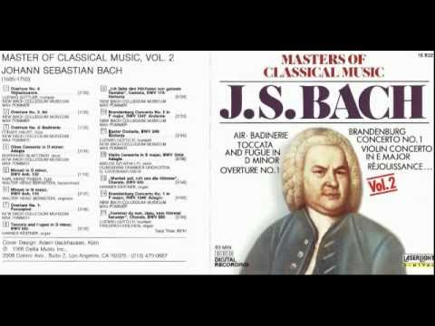 "N-vivo propone. Johann Sebastian Bach ""Minuet in G major"""